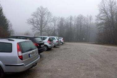 Ganghofer-Wanderparkplatz