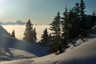 Winterliches Ammergebirge
