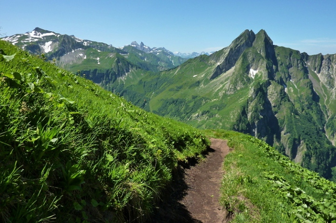 Abstieg Richtung Höfats