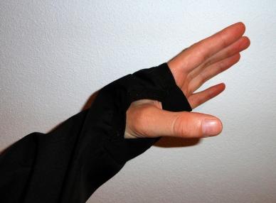 Daumenschlaufen mit weichen Handinnenflächen