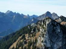 Hauptgipfel der Ammergauer Alpen