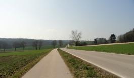 Radweg Richtung Horgau