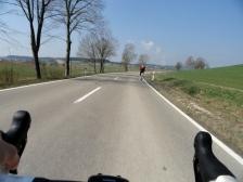 Trotz breiter Straßen herrscht kaum Verkehr