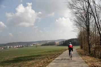 Abfahrt Richtung Horgau