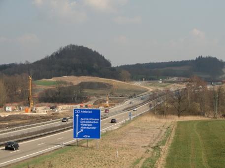 A8 bei Zusmarshausen