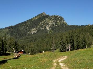 Jägerhütte vor dem Hohen Straußberg