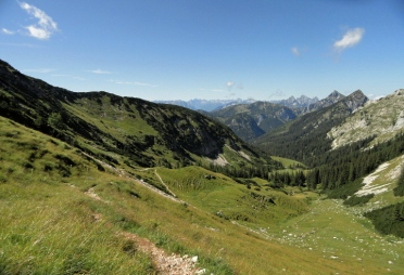 Rückblick ins Köllebachtal