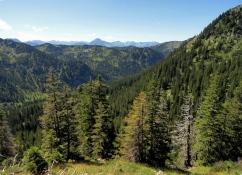 Blick in die Ammergauer und Lechtaler Alpen