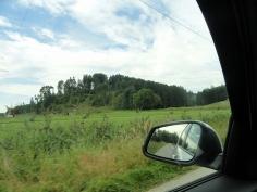 Gleich ist der Ausgangspunkt der Tour erreicht, ich starte unweit der Autobahnraststätte Edenbergen