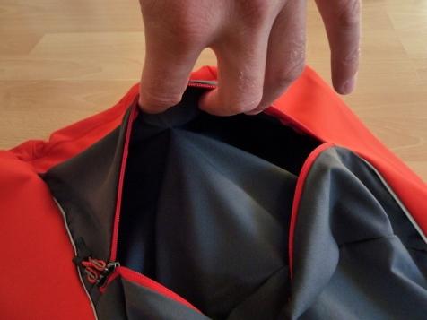 Haglöfs Fuse Vest, zweigeteiltes Rückenfach