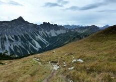 Leilachspitze und Krottenköpfe