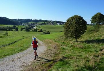 Hügellauf bei Maria Vesperbild