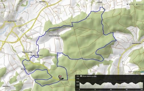 Hügellauf Maria Vesperbild 20km 500hm