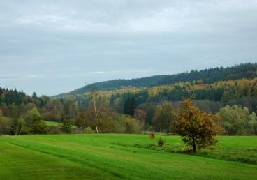 Hügel im Naturpark Westliche Wälder