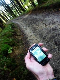 GPS unterstützt durch den Naturpark Augsburg
