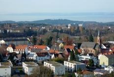 Landsberg am Lech vor dem Stoffersberg