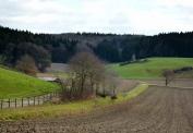 Sanft gewelltes Wittelsbacher Land