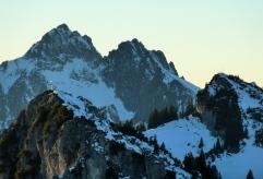 Laubeneck, Brunnenkopf und Klammspitzen