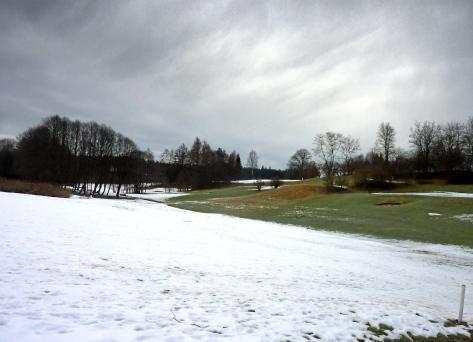 Golfplatz bei Burgwalden