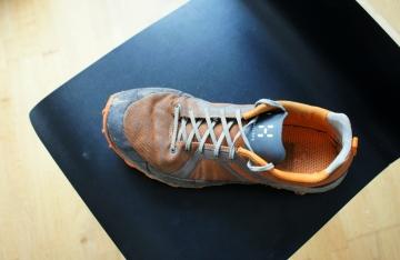Schuhschaft ohne Schäden